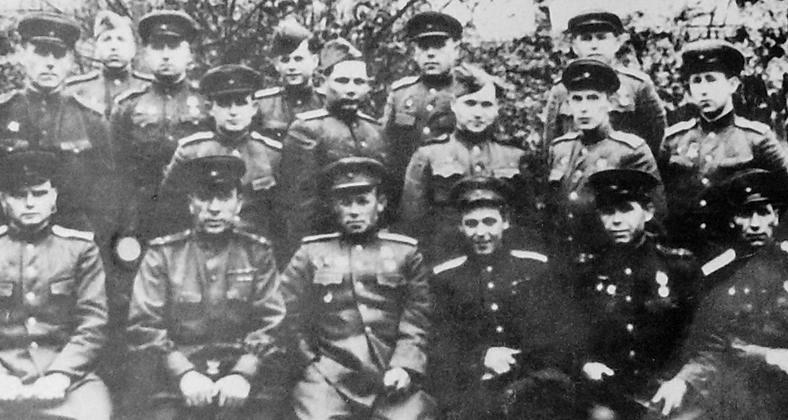 Командный состав 313 дивизии.