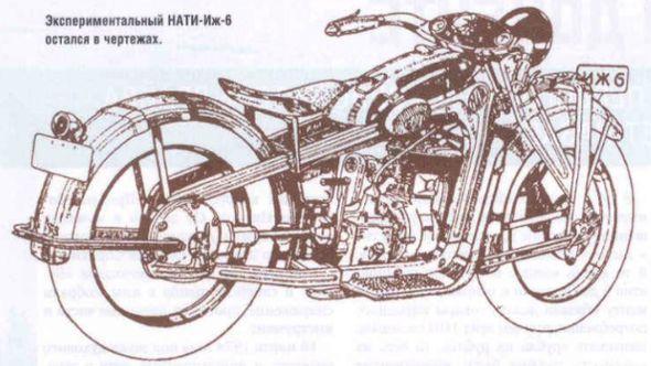 Мотоцикл ИЖ-6