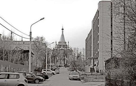 Улица ВАДИМА СИВКОВА, фото старого Ижевска.
