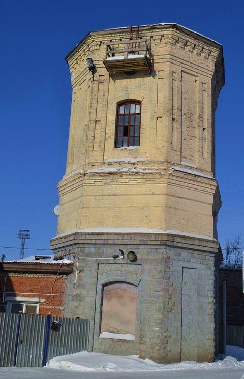 Водонапорная башня ст. Балезино. Удмуртия. Фото 2017 год.