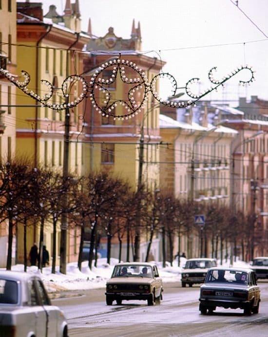 Улица Пушкинская, 1990-е годы. Ижевск.