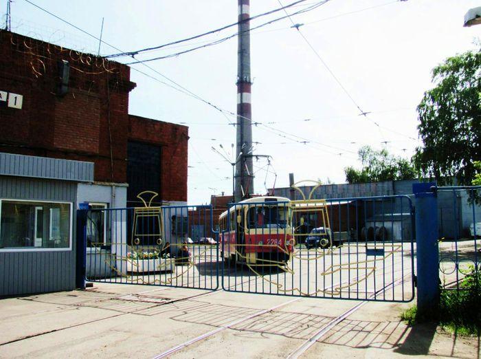 Трамвайное депо №2. Ижевск. 2018 г.