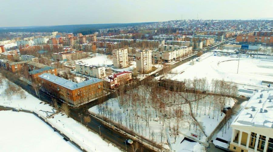 Улица Мира. Воткинск. 2017 год.