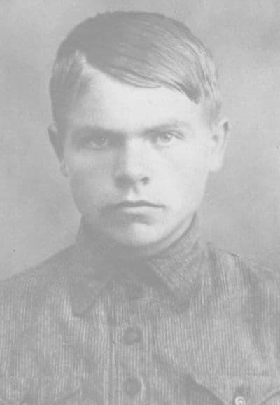 Герой Советского Союза Юхнин Виктор Михайлович, гвардии сержант, 1941 год