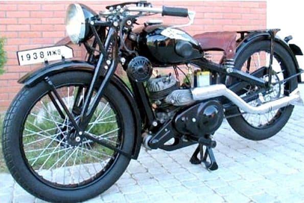 Мотоцикл  Иж-8