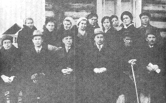 Факультет естествознания, 1941 г. Ижевск.