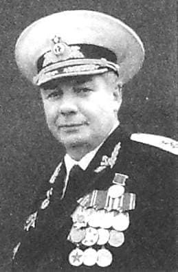 Барсков Михаил Константинович Капитан 1 ранга.