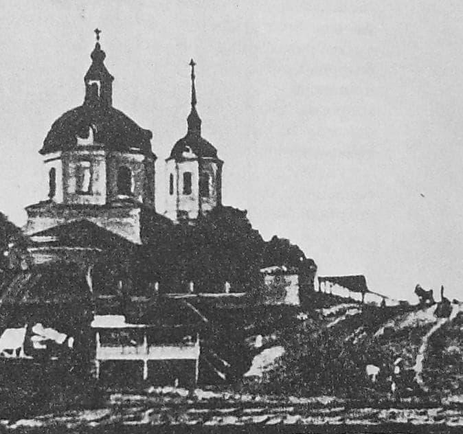 Гольяны. Крестовоздвиженская церковь.