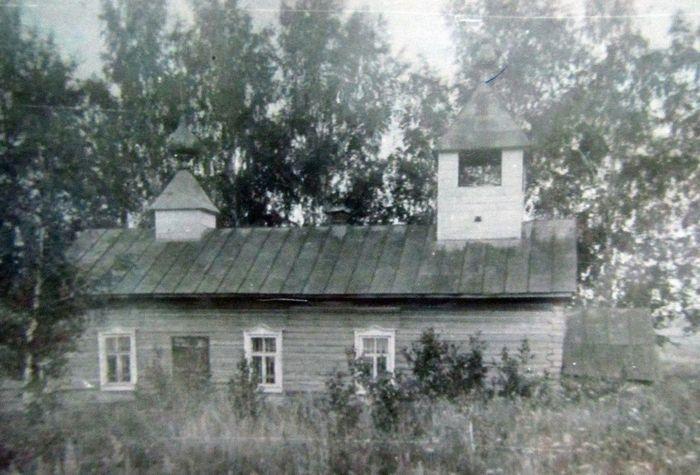 Храм в селе Дуванак Сарапульского района. УАССР