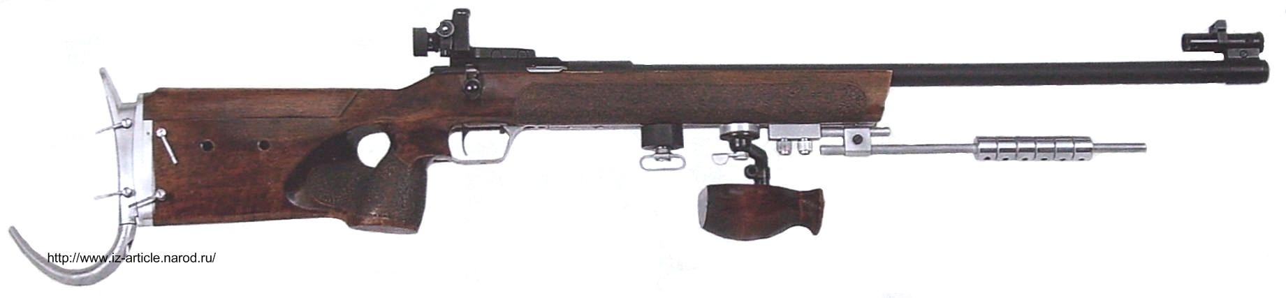 Произвольная малокалиберная винтовка Урал-5-1