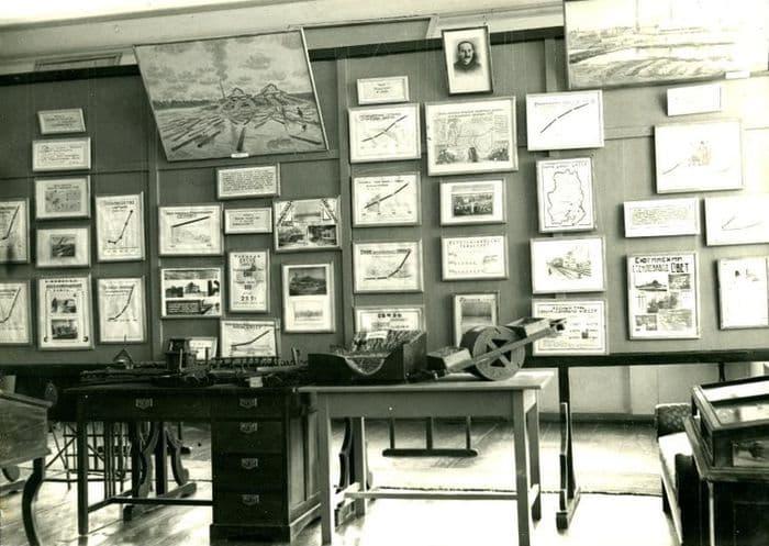 Историческая экспозиция в Удмуртском республиканском краеведческом музее - здании бывшего дома Лятушевича в Ижевске.