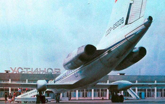 Аэропорт, 1986 г. Устинов.