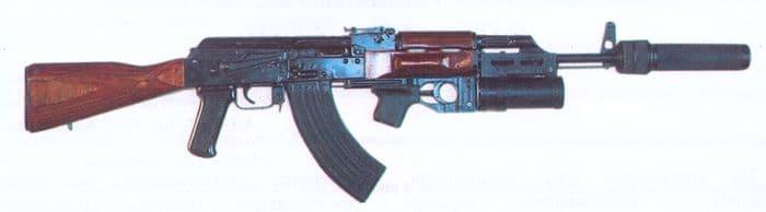 Автомат АКМ с прибором ПБС-1