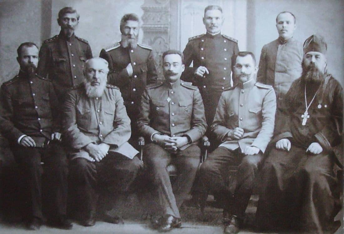 Преподаватели оружейной школы. 1910г. Ижевск.