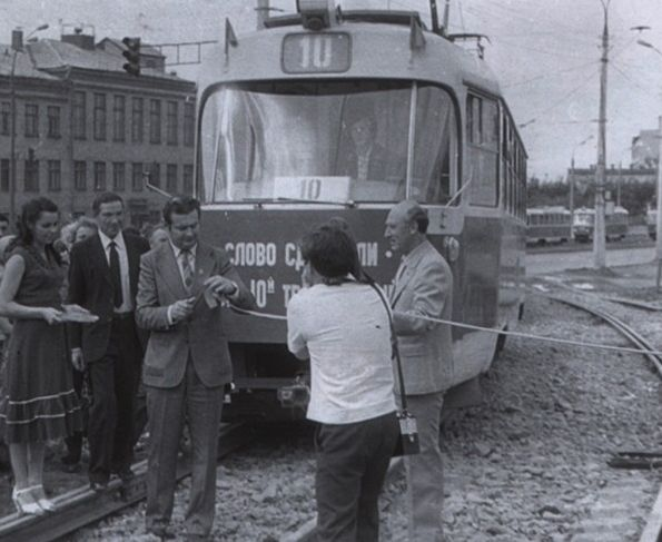 Ижевск. Трамвай №10.