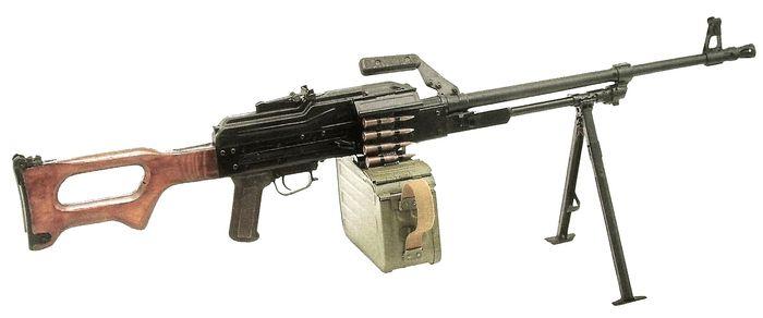 Пулемет Калашникова модернизированный ПКМ.
