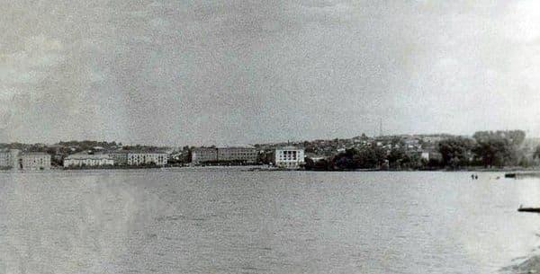 Фотографии Воткинского пруда. Набережная города Воткинск.