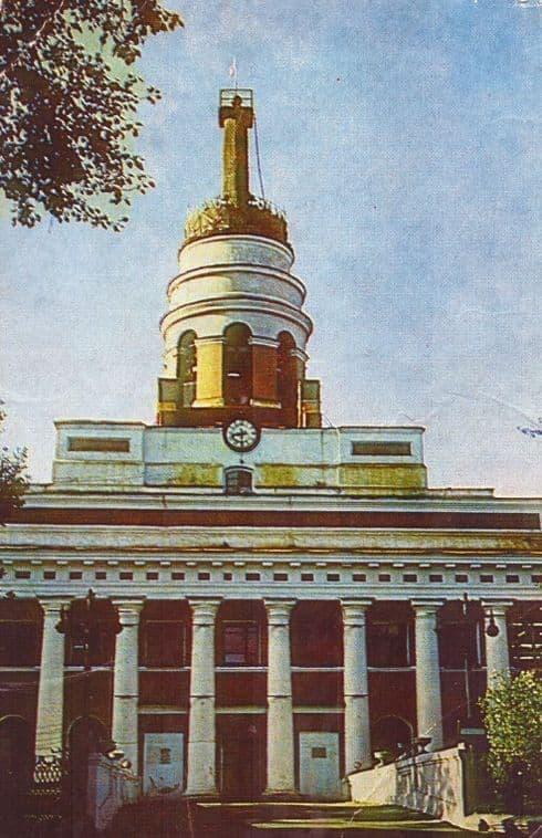 Открытки из набора - УАССР, 1985 год. Ижевск. Башня Ижмаша.