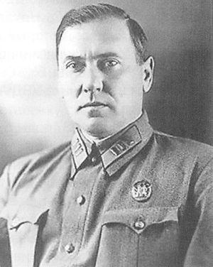 Начальник Управления милиции НКВД республики в 1937-1941 гг. Попченко Василий Петрович.