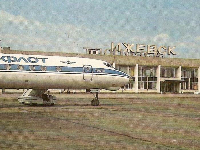 Аэропорт. Ижевск. Фото 1981 г.