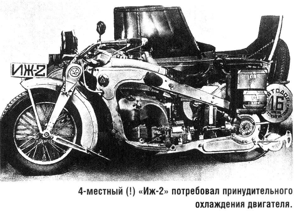 Мотоцикл  ИЖ-2