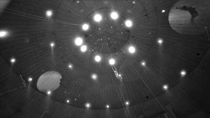История старого Ижевского цирка. Фото Евгения Аксёнова.