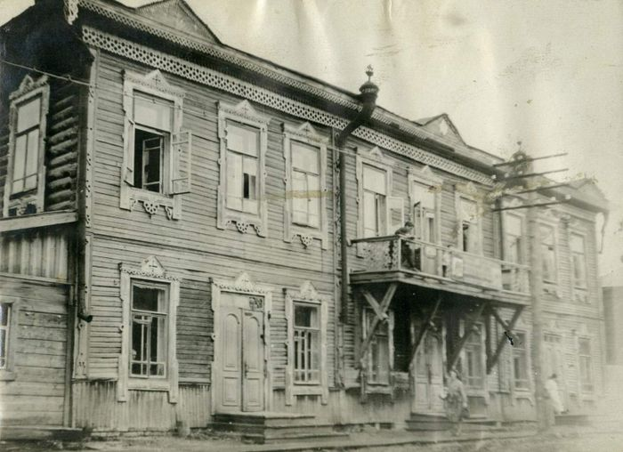 Дом Федуловых на Осиновом мысу. Снесён при строительстве ТЭЦ-1 в начале 1930-х годов. Фото: из фондов Национального музея УР им. К. Герда.