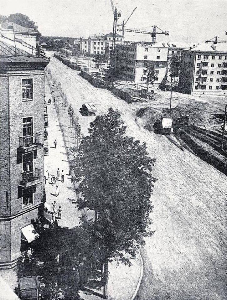 1963 год. Улица Труда (Ленина).