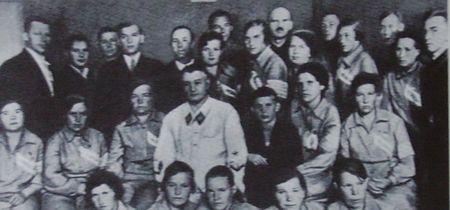 Встреча с наркомом обороны Маршалом Советского Союза Тухачевским М.Н. 7 августа 1936 г.