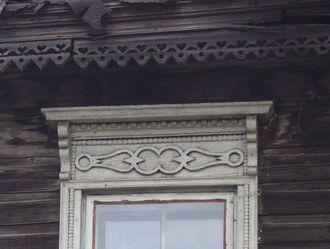 Фото наличника на ул. Красная Ижевск.