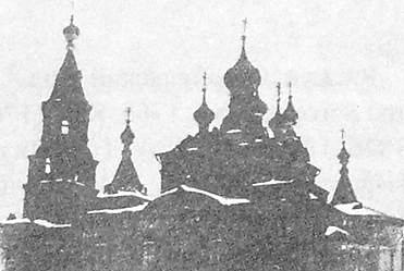 Игра. Храм открыт в честь Иоанна Богослова. Приход открыт в 1862 г. Русский стиль.