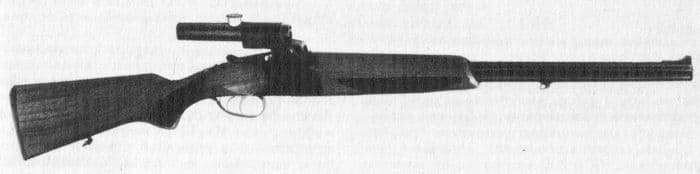 Комбинированное пуледробовое ружье модели - СЕВЕР.