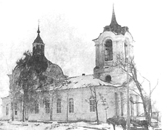 Ильинское Малопургинский район. Храм освящён в честь Ильи Пророка.
