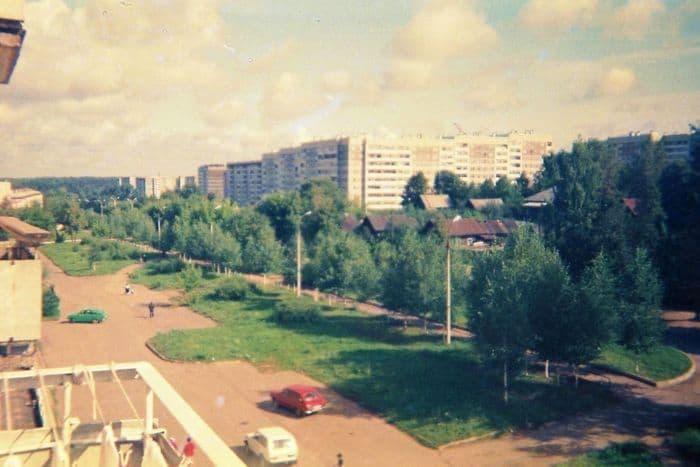 Ижевск, улица Карла Маркса. 1993 год.