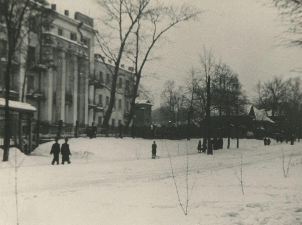 Ижевск, ул. Свободы. Дата съёмки: 1956 г.