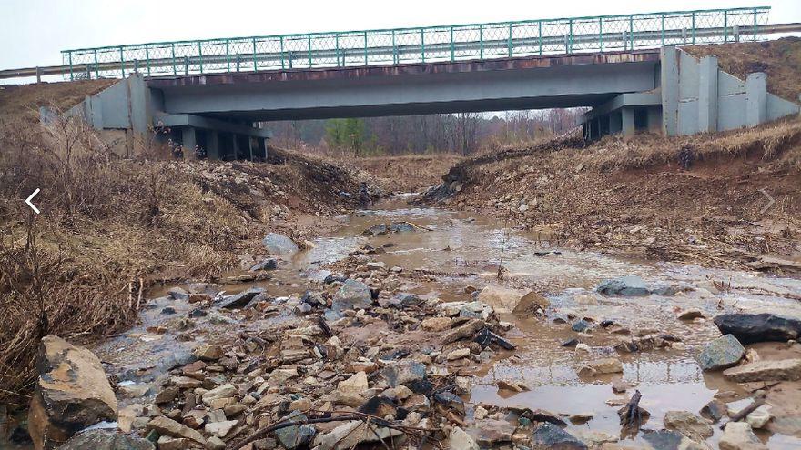 Мост через реку Тлоинка. Автотрасса Ува-Нылга-Можга. Удмуртия.