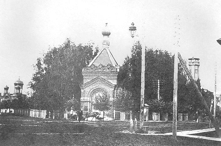 Часовня Александра Невского в г.Глазове. 1910-1911 гг.
