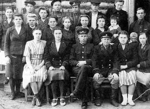 Контора связи, Ува. Удмуртия. 1950 г.