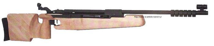 Пневматическая винтовка  МР-532.