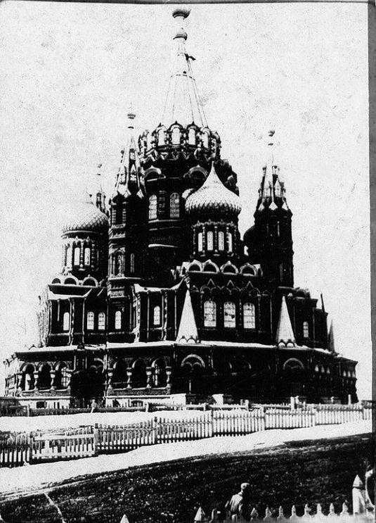 Фото Свято-Михайловского храма. Ижевск.