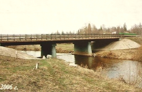 Мост через реку Игерман. 2006 г.