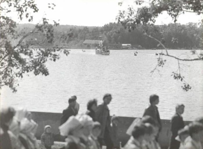 Празднование по поводу II детского фестиваля Чайковского в мае 1983 г.