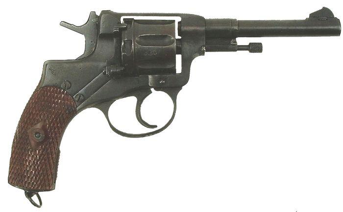 Револьвер газовый Р1 (Наганыч). Оружие Ижевска.