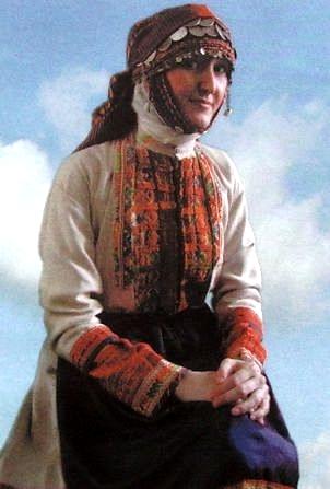 Бессермянка. Удмуртская народная одежда.