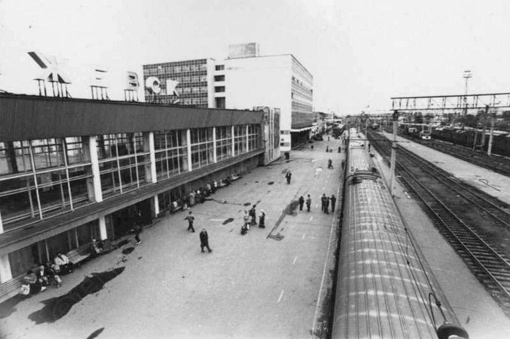 ЖД вокзал. Ижевск.