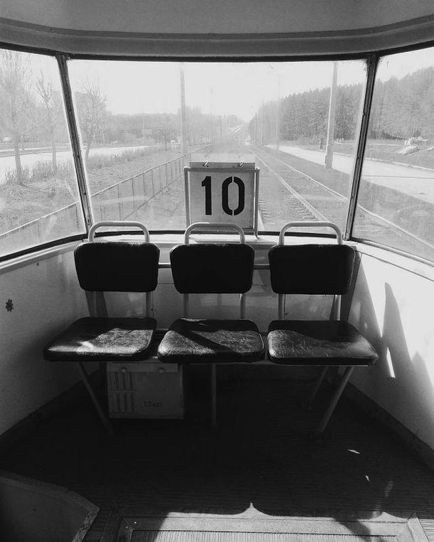 Трамвай №10. Ижевск. Фото 2017 год.