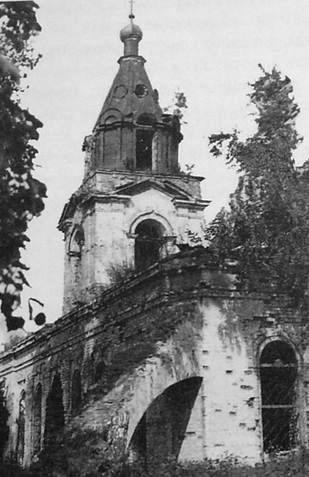 Село Нечкино. Сарапульский р-н. Храм во имя Богоявления