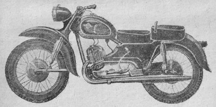Мотоцикл ИЖ-330 Орион