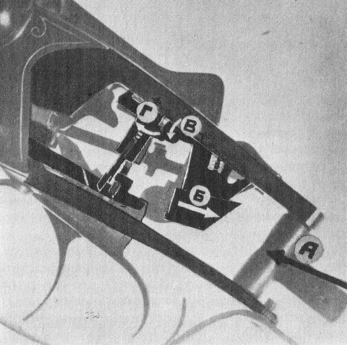 Взаимодействие деталей ударно-спускового механизма ружья Иж-43 во время выстрела.