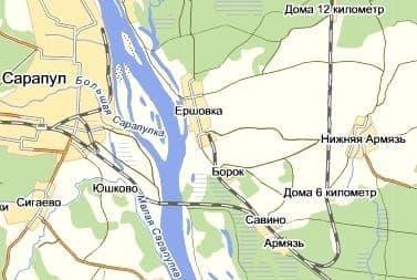 Армязь - река в бассейне р.Кама и одноименный населенный пункт в Камбарском р-не. Удмуртия.